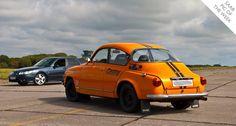 Vintage Saab 96 & Saab 9-5