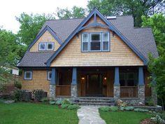American Craftsman | american craftsman shingle clad bungalow shining fresh after the rains