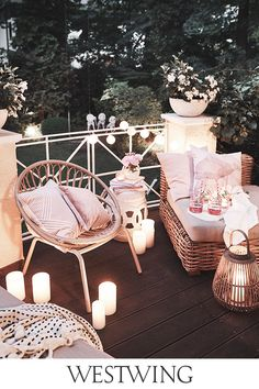 An outdoor atmosphere To have a beautiful light .- Une atmosphère de plein air ✨ 🛍️ Pour avoir une belle lumière … – l… An open air atmosphere ✨ 🛍️ To have a beautiful light … – lovingit – have - The Grinch, Kitsch, Balcony Chairs, Balcony Garden, Ideas Para Organizar, Garden Deco, Minimalist Bedroom, Beautiful Lights, Decoration Home