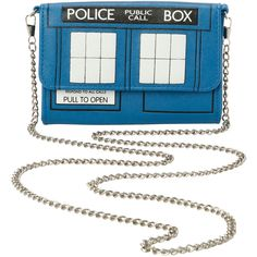 Doctor Who TARDIS Crossbody Bag | Hot Topic ($50) ❤ liked on Polyvore featuring bags, handbags, shoulder bags, white shoulder bag, white crossbody purse, white crossbody, white cross body purse and crossbody purse