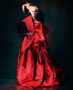Cool Chic Style Fashion: Fashion Editorial | evening gowns red