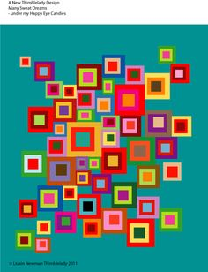 Quilting at Thimblelady - BOW learn Visual Pattern Hexagon Quilt, Square Quilt, Modern Quilt Blocks, Modern Quilting, Machine Quilting Designs, Colorful Quilts, Log Cabin Quilts, Contemporary Quilts, Quilt Block Patterns