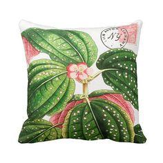 Pillow Cover Polka Dot Begonia