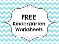 1114 best free kindergarten worksheets images in 2019