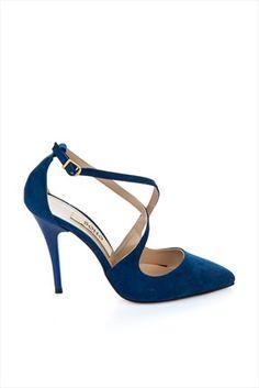 Soho Exclusive · Ayakkabı Şıklığı - Saks Mavi Süet Topuklu Ayakkabı 3433 %60 indirimle 59,99TL ile Trendyol da