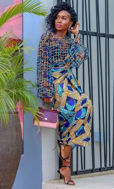 Elegant and Trendy Ankara Styles - Fashion Ruk African Print Dress Designs, African Print Dresses, African Print Fashion, African Dress, African Prints, Ankara Wedding Styles, Trendy Ankara Styles, Ankara Gown Styles, African Attire