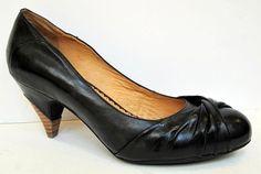 Miz Mooz 'Felicity' Black Leather Pump Size 11 #MizMooz #PumpsClassics