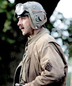 "Shia LaBeouf as Boyd 'Bible' Swan in ""Fury"" Brad Pitt, Fury 2014, Sherman Tank, Military Special Forces, Jonathan Rhys Meyers, Shia Labeouf, Ben Barnes, Battle Tank, Jeremy Renner"