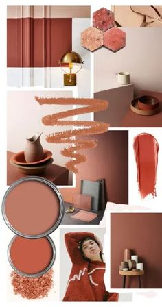 Color Crush: Spice Up Your Decor With Cayenne Paint Colors For Home, House Colors, Colour Schemes, Color Trends, Luxury Decor, Colour Board, Colorful Interiors, Mood Boards, Color Inspiration