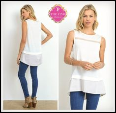 Whitley Top in White