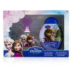 Air Val International Disney Frozen Набор: Туалетная Вода Спрей 100мл/3.4унц + Шампунь и Гель для Душа 300мл/10.2унц 2pcs