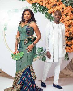 Bridal Hair Tiara, Kente Dress, Kente Styles, Tiara Hairstyles, African Traditional Dresses, Engagement Dresses, Weeding, Traditional Wedding, Couple Photography