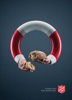 Salvation Army: Life saver - Bread | Ads of the World™