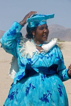Herero women, Namibia