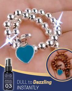 Tarnished Jewelry, Wire Jewelry, Jewelry Crafts, Beaded Jewelry, Jewelery, Silver Jewelry, Vintage Jewelry, Handmade Jewelry, Diy Cleaning Products