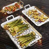 Sur La Table® Stainless Steel Grill Grids, Set of 3