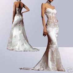 I would wear this if I was having my wedding on the beach. sexy wedding dresses - Google Search