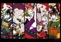 Star Citizen, Nikkari Aoe, Rurouni Kenshin, Touken Ranbu, Akita, Game Character, Doujinshi, Dark Matter, Anime Art