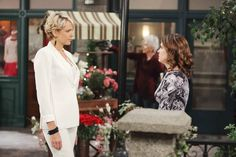 Nicole encourages Theresa to stand up to Kate.  Week of 10/26/15 Photos from Days of our Lives on NBC.com