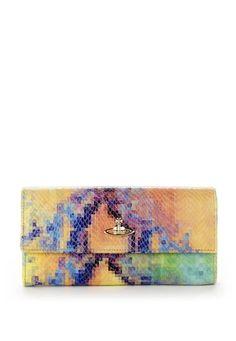 Vivienne Westwood powder pixelated wallet