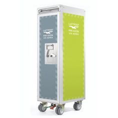 Skypak Cart Airmail Blue Green, $1,499, now featured on Fab.