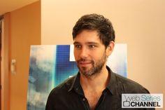 David Clayton Rogers at Comic-Con 2012 talking about new Warner Bros web series H+.