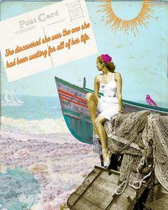 Art Print,Beach,Beach Art, Inspirational, Quote, Inspirational Art,Motivational Art,Quote Art, Boat Art,Digital Art, Collage Art,Gift by AndreaMDesigns on Etsy Art Prints Quotes, Quote Art, Art Quotes, Digital Collage, Digital Art, Boat Art, Collage Artists, Motivational, Poster Prints