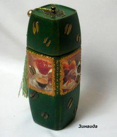 Декор бутылок, банок – 64 фотографии