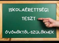 Iskolaérettségi teszt óvónőktől-szülőknek Preschool Activities, Sport, Education, Games, Deporte, Sports, Onderwijs, Learning