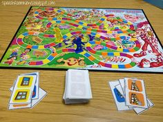Speech & Language CandyLand Cards (phonology, articulation, preschool & school aged language, fluency)