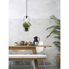 It's about Romi Florence hanglamp met plantenhouder | FLINDERS Decor, Lamp, Deco, Floating Shelves, Home Decor, Metal