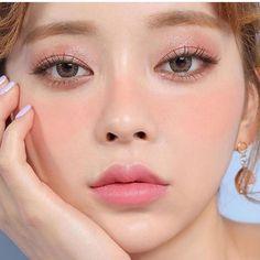 111 japanese makeup beauty – page 1 Ullzang Makeup, Pony Makeup, Peach Makeup, Makeup Inspo, Makeup Inspiration, Makeup Brushes, Korean Makeup Look, Asian Makeup, Make Up Looks