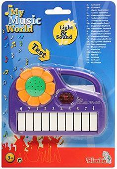#SimbaToys #toys #kids #toddlers #Infants #colorful #playtime #music #keyboard #gifts #purple #amazonindia #onlineshopping Simba My Music World Mini Keyboard Purple Simba http://www.amazon.in/dp/B019520K2Q/ref=cm_sw_r_pi_dp_4awDwb1H6J1YC