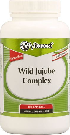 helps to relax and sleep -  Wild Jujube Complex - Standardized