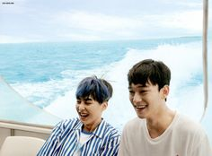 OTP Xiumin and Chen Xiuchen <3 | EXO Dear Happiness photobook 2016 ♥