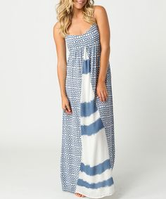 Take a look at this Indigo Lagoon Maxi Dress by O'Neill on #zulily today!