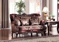 Meridian Furniture Lyon Loveseat *** Visit the image link more details.