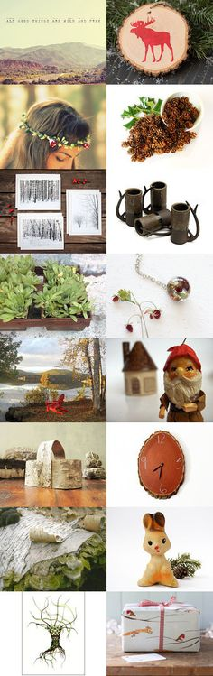 ~Woodland Style~ by Sarah Ann on Etsy--Pinned with TreasuryPin.com