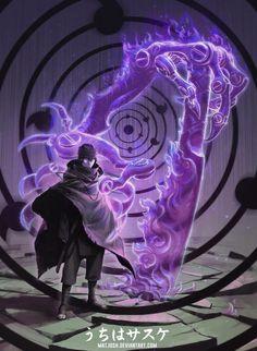 Uchiha Sasuke. Rinnengan. Susano'o
