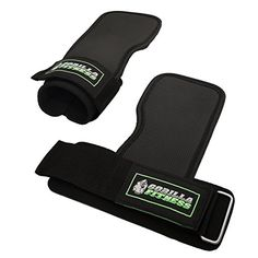 Gorilla Fitness Power Gripz  Adjustable weight lifting straps provide wrist support and palm protection -- Read more reviews of the product by visiting the link on the image.