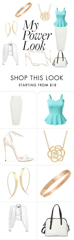 """""""Look like a Boss"""" by nerdy-fandom-singer27 ❤ liked on Polyvore featuring Rick Owens, Doublju, Casadei, Lord & Taylor, Lana, Cartier, Alice + Olivia, La Diva, LikeABoss and powerlook"""