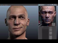 3D Facial Rig Manager for Maya & 3ds Max by Snappers Systems - Character…