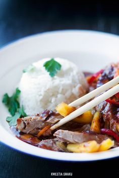 Duck and Mango Stir-fry