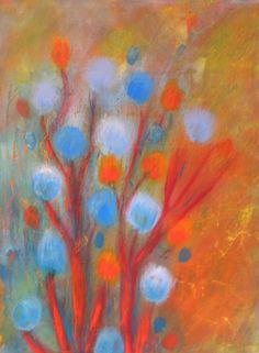 "Saatchi Online Artist: gordon sellen; Acrylic, Painting ""Wildflowers"""