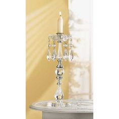 Victorian chic Crystal shabby Beaded Chandelier Taper Candle Holder wedding null http://www.amazon.com/dp/B00BMV0VAA/ref=cm_sw_r_pi_dp_EFf2tb10NAS2QGCJ