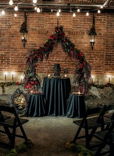 Photo of We're Now Considering a Halloween Wedding Thanks to This Bride's Gorgeous Black Gown Edgy Wedding, Pagan Wedding, Fantasy Wedding, Our Wedding, Dream Wedding, Gothic Wedding Decorations, Gothic Wedding Ideas, Victorian Wedding Themes, Samhain