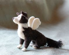 Be reminded of your belated pet with a custom Fiber Friend made to match him to a T. Now available : Angel Wings Add On
