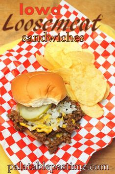 Most up-to-date Images Iowa Loosemeat Sandwiches Tips Today I'm planning showing you steps to make the basic team sandwich. That dual decker plastic is Maid Rite Sandwiches, Loose Meat Sandwiches, Wrap Sandwiches, Ground Meat Recipes, Hamburger Recipes, Beef Recipes, Cooking Recipes, Redneck Recipes, Amigurumi