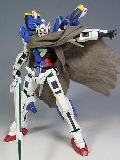 MG改造 ガンダムXエクシア  MG Remodeling Exia Gundam X
