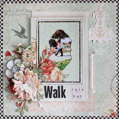 Design Team Project for C'est Magnifique Kits using the July Kit, Vintage Curiosities.